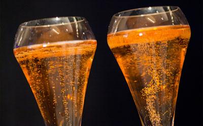 6 champagnes rosés pour le réveillon