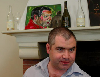Benoît Tarlant lors du salon Terres et Vins de Champagne 2013