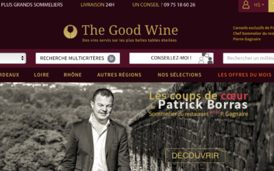 Bienvenue à The Good Wine