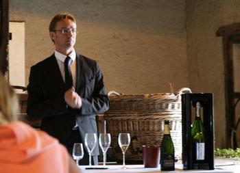 Laurent Fresnet, chef de cave de la maison Henriot